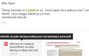 Jasa Translate (Terjemahan) Jurnal Kedokteran Online Murah Berkualitas