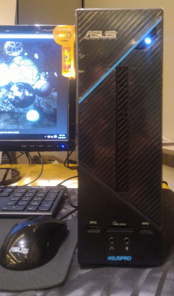 CPU ASUSD320SF yang berukuran kecil