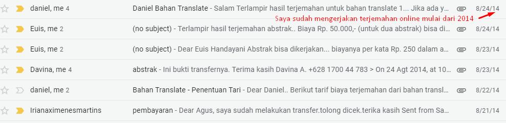 Layanan Jasa Terjemahan Jurnal Sejak 2014